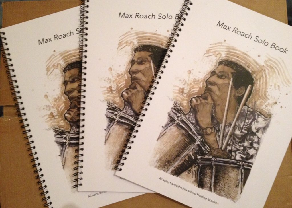 Max Roach Solos Book drum transcriptions